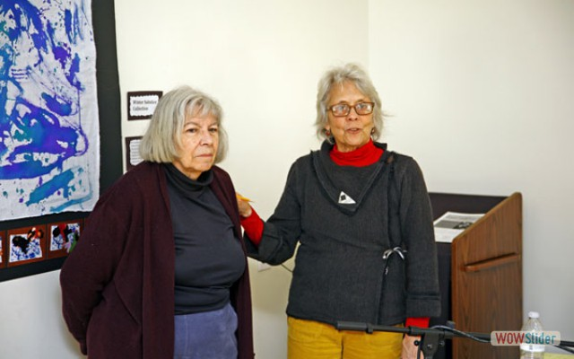 Doris Bartlett & Beth Waterman