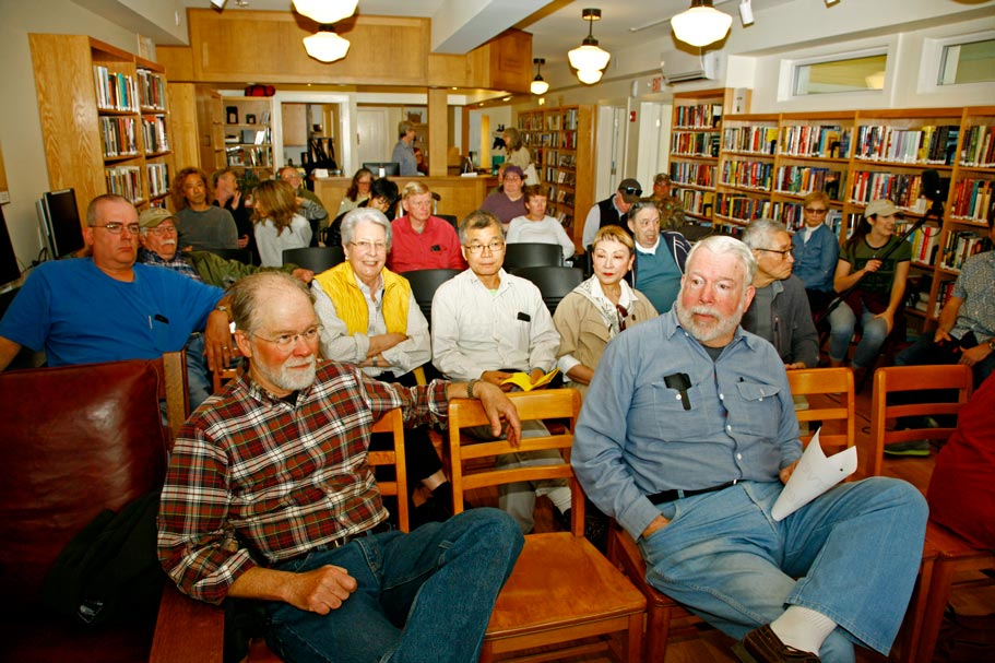 Sporting Clubs talk at the Jerry Bartlett Angling Collection at the Phoencia Library